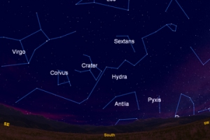 snake-constellation-hydra-night-sky